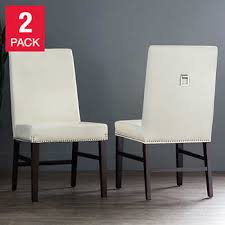 Brooke Ivory Chair 2 Pack