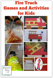 Fire Truck Games And Activities For Kids - Perfect For Community ...