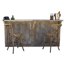 Country Home Bar With Galvanized Stamped Tin Panels Reclaimed Wood Vintage  Style French Style Bar Stools French Country Cottage Sunny Designs Bourbon County Country Fxible Bar Handcrafted In North America Kitchen And Ding Room Canadel Ding Room Fniture Style 1825 Interiors Three Vintage White Bamboo Stools Tiki Country Pub Height Set 549 Buy 3pc Island Decor Decorating Ideas Fausto 30 Stool Trail 3 Piece Set With Bernhardt