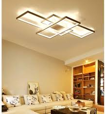 led wohnzimmerle deckenleuchten dimmbar 3000k 6500k acryl schirm fernbedienung lichtfarbe helligkeit einstellbar deckenle