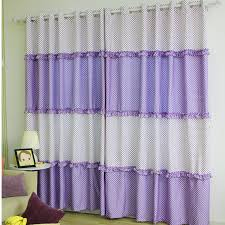 Curtains For Girls Room by Korean Laced Stitching Polyester Polka Dot Curtain For Girls Room