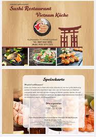 sushi restaurant vietnamküche home ingolstadt germany