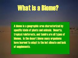 Earth Floor Biomes Desert desert biome ppt online download