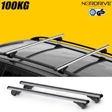 barres de toit mitsubishi pajero 3 portes nordrive rail pro