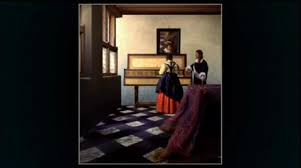 Vermeer Master of Light The Music Lesson Part 2