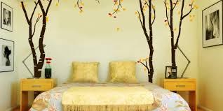 schlafzimmer deko ideen mit coole wandgestaltung und