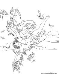 MYTH OF ICARUS Coloring Page