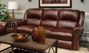 Messina Power Lay Flat Reclining Sofa Orange Park Furniture