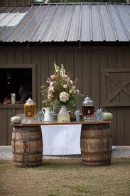 Rustic Wedding Ideas Southern Barn Reception Drinks