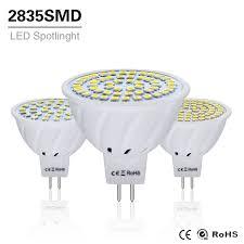10pcs 4w 6w 8w led l mr16 ac dc 12v 24v led bulb light gu5 3