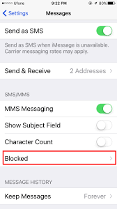 How To Block A Number From Messaging You In iOS 10