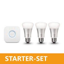 ledrise starter set 3 x led bulb philips hue wifi 2 0 e27 rgb