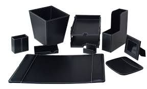 Leather Desk Blotters And Accessories by White Leather Desk Accessories Hungrylikekevin Com