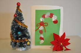 Candy Cane Card Christmas Craft