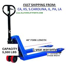 Amazon.com: PALLET JACK 27x48. CAPACITY - 5,500 Lbs. HAND PALLET ... Hydraulic Hand Electric Table Truck 770 Lb Etf35 Scissor Pallet 1100 Eqsd50 2200 Etf100d Justic Cporation Jack For Warehouse Vestil 2000 Capacity Manual Pump Stackervhps Wesco 272941 Value Lift With Handle Polyurethane Wheels 880lb Jack Wikipedia China 2030ton Super Long Photos Advanced Design By Swift Technoplast Hp25s Buy Ce For 35 Ton Pictures