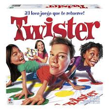 Twister Is A Game Of Physical Skill Produced By The Milton Bradley Company It Played On Large Plastic Mat That Spread Floor Or Ground