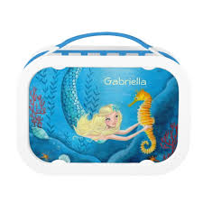 Mermaid Lunch Box Girl