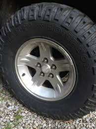 Wondering If 32 / 11.5 Tires Will Fit On These Stock 16 Inch Rims ... 17 Inch Tiresoff Road Tire 4x4 37 1251716 Off Tires This Silverado 2500hd On 46inch Rims Hates Life The Drive Allstate Deluxe 50016 Inch Motorcycle 2017 Toyota Corolla With Custom 16 Inch Rims Tires Youtube Mudder Your Next Blog Ford 2002 F150 Wheels And Buy At Discount Mickey Thompson Adds Five New Sizes To Baja Atzp3 Line Uerstanding Load Ratings Dubsandtirescom Toyota Tacoma Atx Nitto