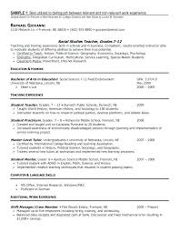 How Long Should Resume Be Baron My Endowed Sample Professional Term Employment Examples