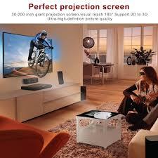 mini led beamer hd 1080p hdmi vga tv home cinema 1300 lumen