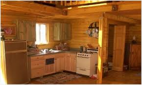 Rustic Kitchen Ideas For Small Kitchens Comfortable Beautiful Cabin Log