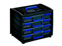 gilbert boîte de rangement handybox 4 coffrets compartimentés