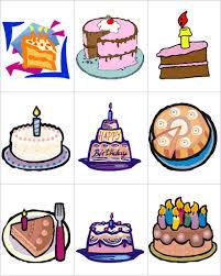 Birthday cake clipart samples