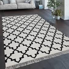 teppich wohnzimmer geometr orient muster handgewebt