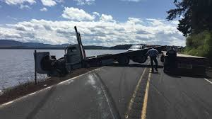 Semi-truck Nearly Crashes Into Upper Klamath Lake - KOBI-TV NBC5 ... Semi Truck And Mustang Collide In Utah County Multiple Injuries 18yearold Reidsville Woman Injured Crash With Semitruck News 2 People Dog Rescued From Semi Accident On Route 53 Long Semitrucks Speeding Icy Roads Leads To Crashes I94 Berrien Man Young Girl Killed Volving West Phoenix Semitruck Rollover Near Watauga Lake Semitruck Driver Cited Speed Infraction That Traffic Stopped Along Ogchee Road At Berwick Boulevard After Causes I65 Choking Chocolate Toyota Dealership Displays 2018 Camry That Got Rearended By Fatal Crash Grove Il 6102014 Firefighter Jobs Truck Dumps 46000 Pounds Of Lumber Wolf Creek Pass