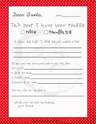 free printable letter from santa claus template easy letters