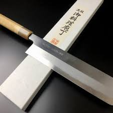 Kitchen Knives Names Aritsugu Blue Steel Japanese Chef Kitchen Knife Forged Etsy