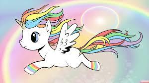 Rainbow Unicorn By IridalAoi