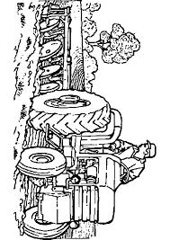 Coloriage Tracteur Claas 9 StadriemblemS