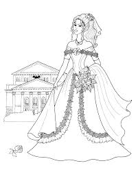 Fashionable Girls Coloring Pages 2