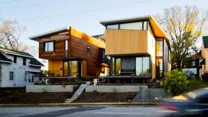 100 Modern Housing Architecture Two Compact Modern Homes Fill Challenging Empty Lots In An