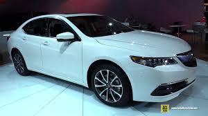 2015 Acura TLX Exterior and Interior Walkaround 2015 Detroit