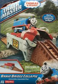 Thomas The Train Tidmouth Shed Trackmaster by Brave Bridge Collapse Thomas And Friends Trackmaster Wiki