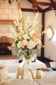 Coral Color Decorations For Wedding by Best 25 Blush Wedding Centerpieces Ideas Only On Pinterest