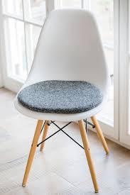 Light Gray Rocking Chair Cushions by Stuhlkissen Für Eames Chair In Hellgrau Limitiert Eames Chairs