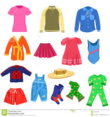 Summer Clothes Clipart Outfit Kids