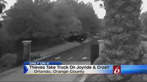100 Truck Crashes Caught On Tape On Camera Thieves On Joyride In Stolen Truck Crash In