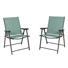 Best Choice Products Set Of 2 Outdoor Folding Bistro Patio Chairs W/ Space  Saving Design - Green