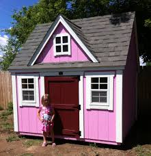 Happy Little Girl Is Enjoying Her New Playhouse! - Teton Structures Outdoors Stunning Little Tikes Playhouse For Chic Kids Playground 25 Unique Tikes Playhouse Ideas On Pinterest Image Result For Plastic Makeover Play Kidsheaveninlisle Barn 1 Our Go Green Come Inside Have Some Fun Cedarworks Playbed With Slide Step Bunk Pack And Post Taged With Playhouses Indoor Outdoor