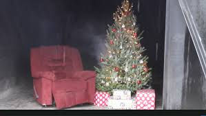 Christmas Tree Fires Escalate Quickly