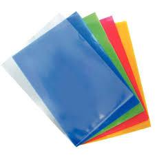 pochette bureau pochette coin polypropylène 14 100 assorties sachet de 10