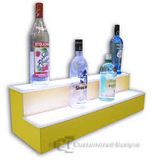 Color & Finish Options For Bar Shelves, Liquor Displays & LED ... Bar Home Bar Accsories Enchanting Perth Kitchen Design Wonderful Beige Paint Wascoting Stunning Red With Glossy Black Granite 20 You Never Knew Existed Newair Appealing Persa Installed Wine Racks Bottle Holder Or Rack Organizeit Coffe Table Silver Coffee Surfboard Storage Tray Harley Stool Valet Humidor Etc Classic On Plans Awesome Fniture Zebra Print Stools Pop Art Decoration
