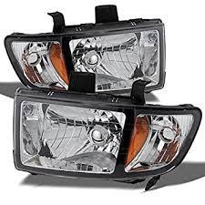 honda ridgeline oe replacement chrome bezel headlights