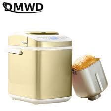 dmwd hause intelligente brot maschine automatische brot maker kaffee röster diy milch shake marmelade joghurt kuchen maker 21 üs 220v