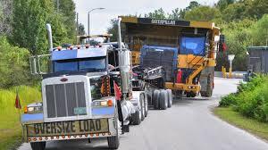 100 Videos Of Trucks Caterpillar 777 Mining Haul Truck Transported By 11 Axle Lowboy