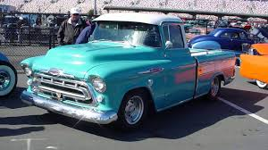 1957 Chevy Cameo - YouTube 51959 Chevy Truck 1957 Chevrolet Stepside Pickup Short Bed Hot Rod 1955 1956 3100 Fleetside Big Block Cool Truck 180 Best Ideas For Building My 55 Pickup Images On Pinterest Cameo 12 Ton Panel Van Restored And Rare Sale Youtube Duramax Diesel Power Magazine Network Ute V8 Patina Faux Custom In Qld